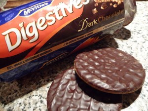 Dark Chocolate Digestive